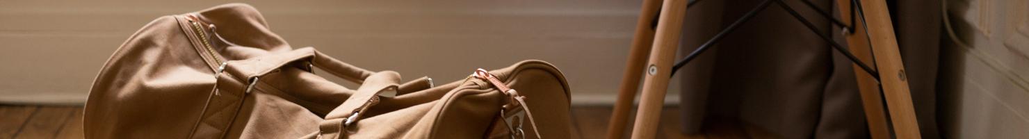 Reisetasche und Gepäck