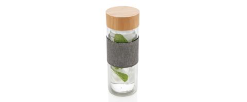 Trinkflaschen Werbeartikel bedrucken aus Bambus
