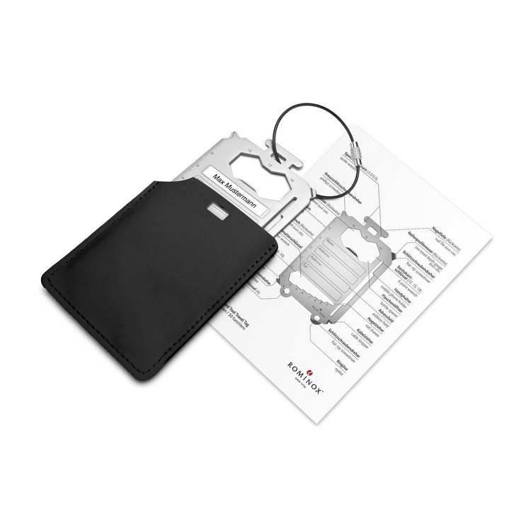 ROMINOX® Card Tool // Travel Tag - 30 Funktionen