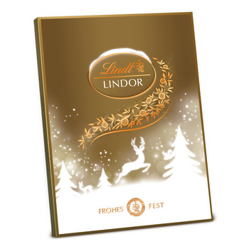 Adventskalender Lindor Gold