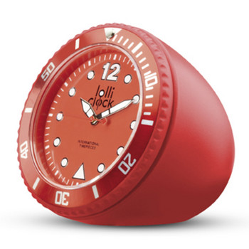 Tischuhr Rock lolli clock