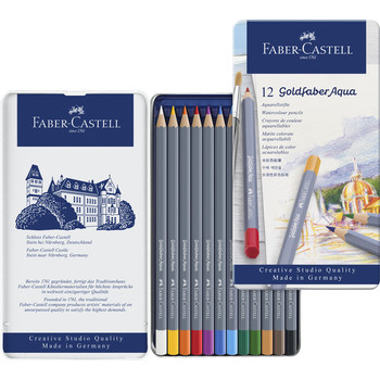 Goldfaber Aquarell 12er Metalletui