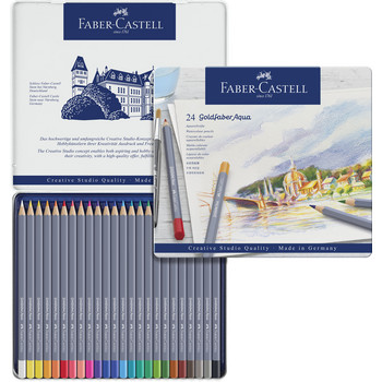 Goldfaber Aquarell 24er Metalletui